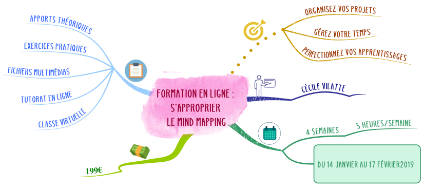 Formation en ligne S'approprier le Mind Mapping